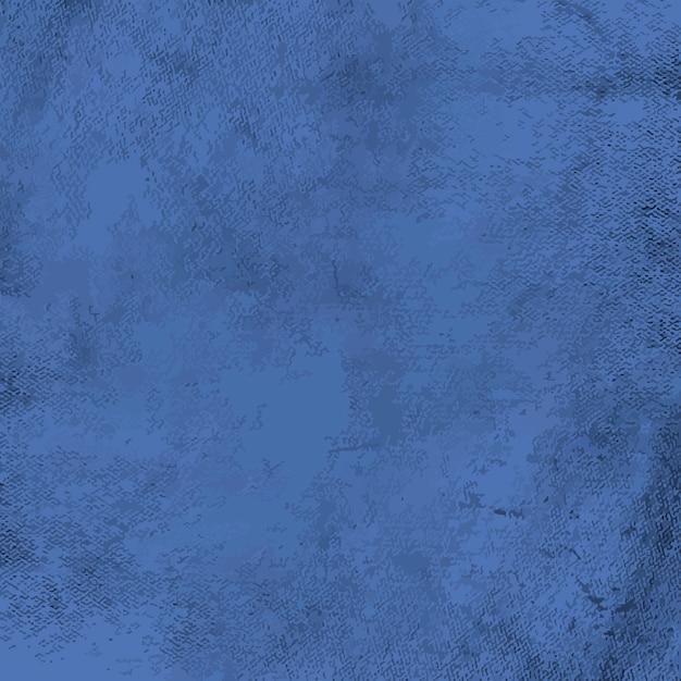 Vecteur De Texture En Détresse Grunge Bleu Vecteur gratuit