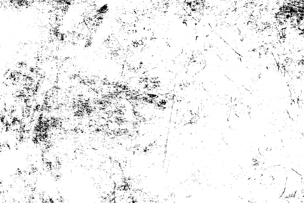Vecteur de texture grunge noir et blanc. fond de surface abstraite illustration. vecteur eps10. Vecteur Premium