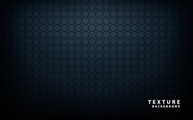 Vecteur de texture métallique noir Vecteur Premium