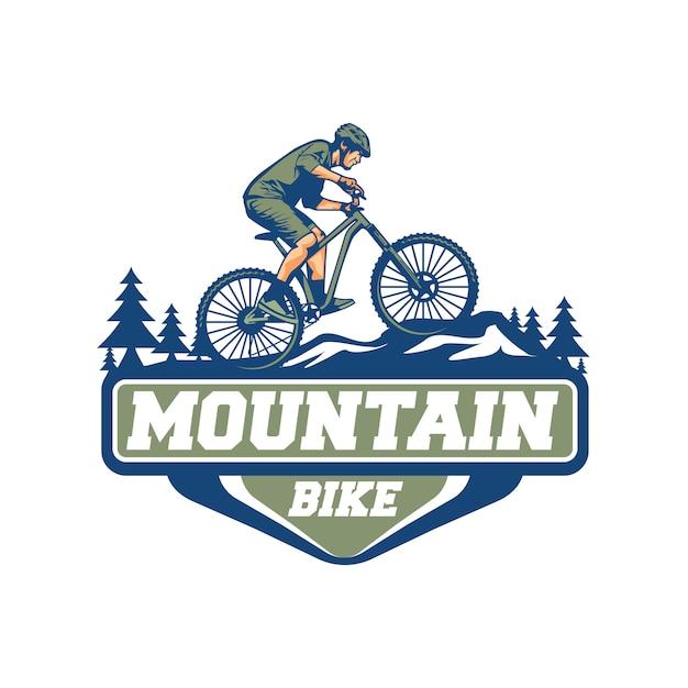 Vecteur De Vélo De Montagne Vecteur Premium