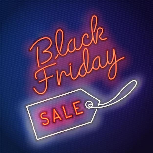 Vecteur vendredi noir Vecteur Premium