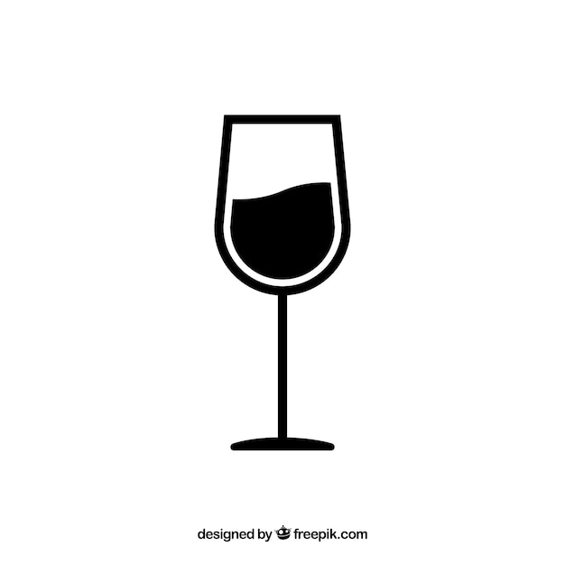 Vecteur verre de vin t l charger des vecteurs gratuitement - Verre de vin dessin ...
