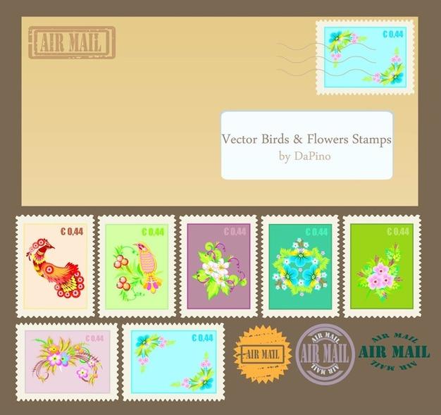 vecteurs de timbre Vecteur gratuit