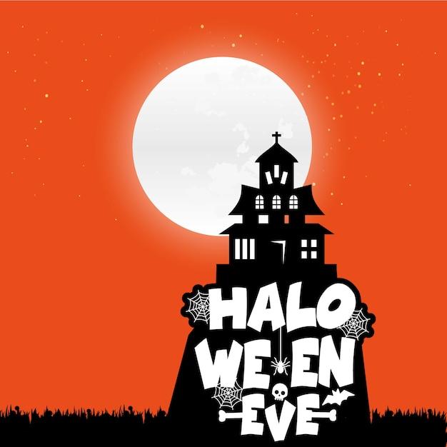 Vecteurs fond halloween Vecteur gratuit