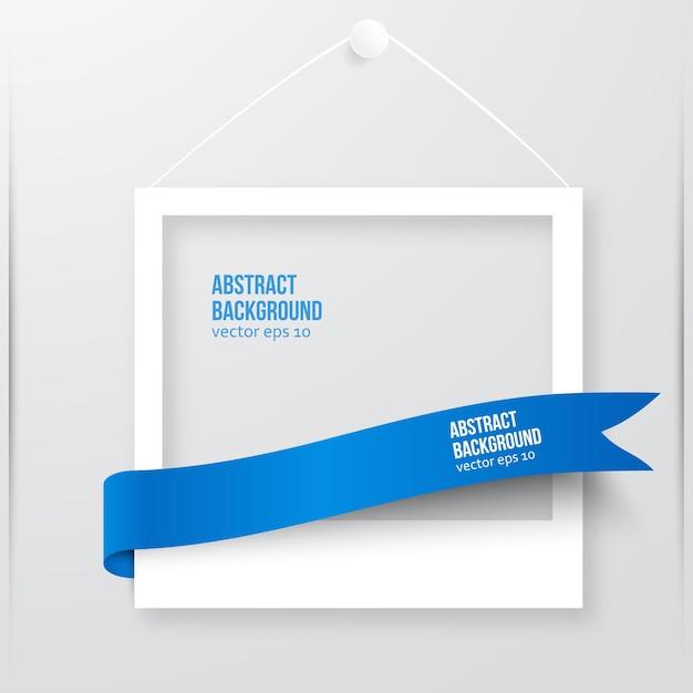 Vector frame frame photo. Vecteur gratuit