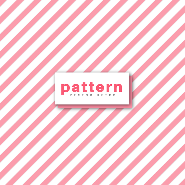 Vector Pattern Design Retro Vecteur gratuit