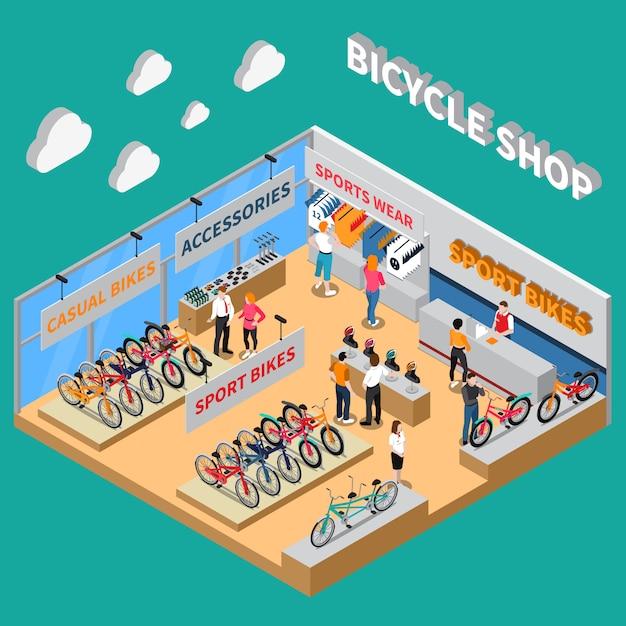 Vélo de couleur Vecteur gratuit