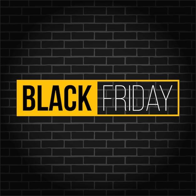 Vendredi noir bannière de vente carrée offre spéciale. Vecteur Premium
