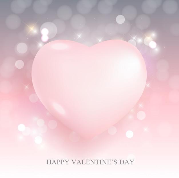 Vente d'amour et de sentiments de la saint-valentin. Vecteur Premium
