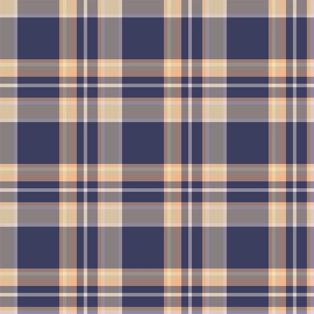 Vérifiez Le Modèle Sans Couture à Carreaux. Fond De Vecteur D'ornement Textile. Tartan. Vecteur Premium