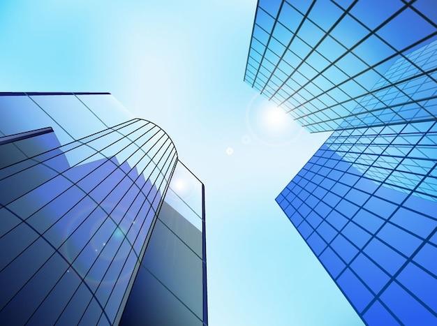 Ville gratte ciel architecture des b timents r flexions for Architecture des batiments