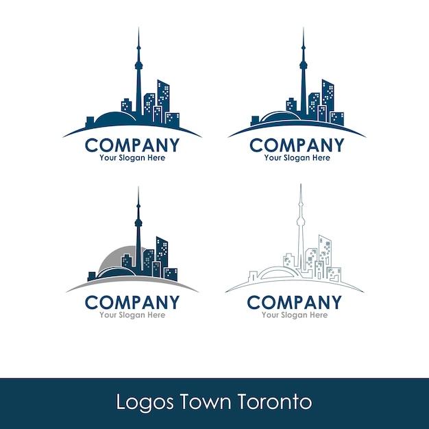 Ville Toronto Vecteur Premium