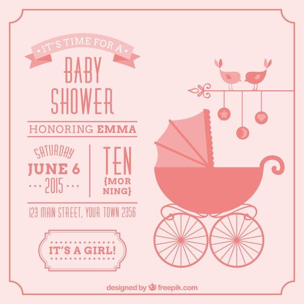 Tarjetas Baby Shower Psd | apexwallpapers.com
