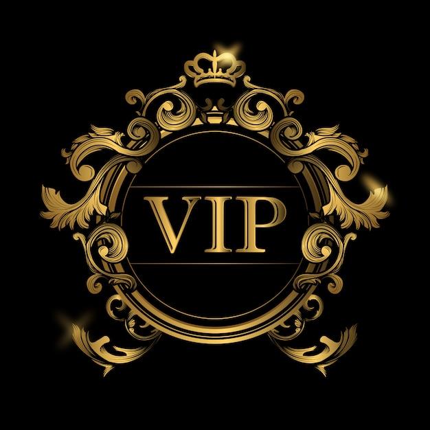 Vip Background Design Vecteur gratuit