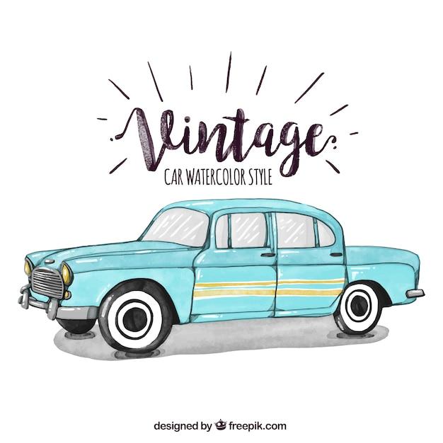 Vieille voiture vecteurs et photos gratuites - Dessin vieille voiture ...