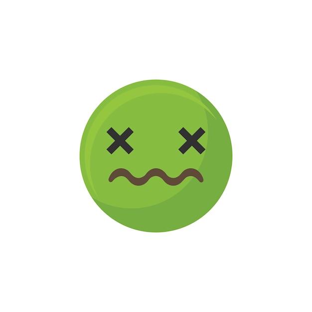 Vomir emoji Vecteur gratuit
