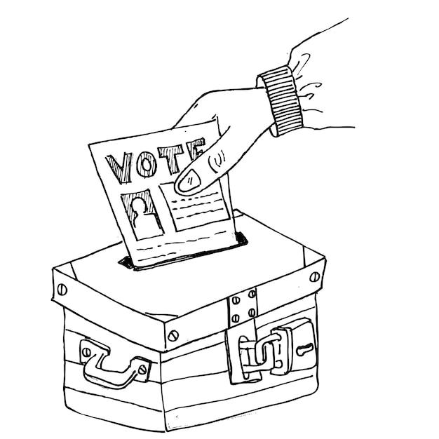 Vote Vecteur Premium