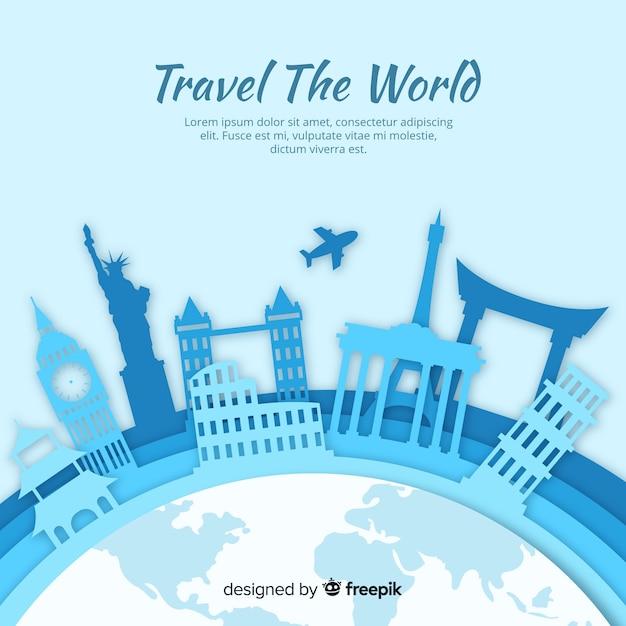 Voyage Vecteur gratuit