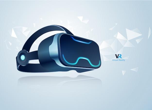 Vr headset Vecteur Premium