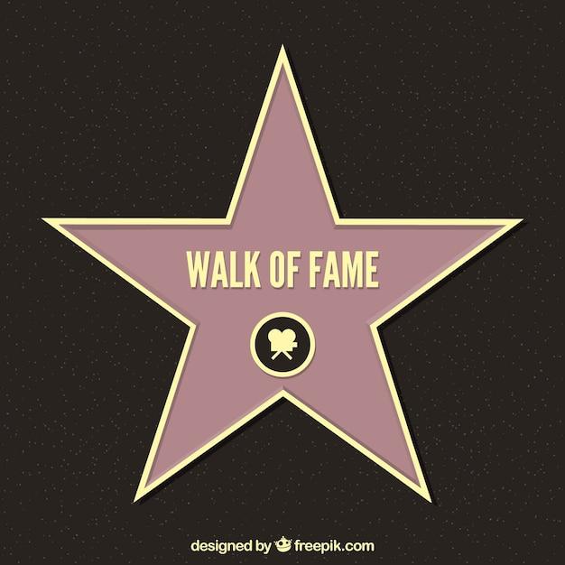 Walk of fame Vecteur gratuit