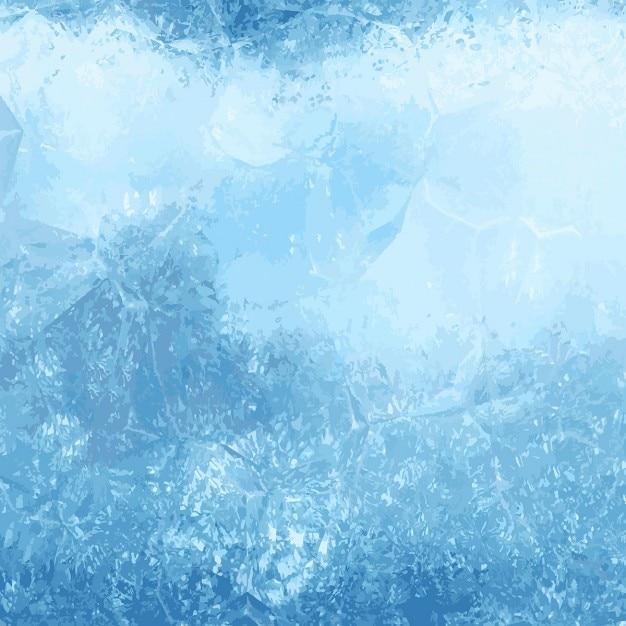 Winter Background Avec Une Texture De La Glace Vecteur gratuit