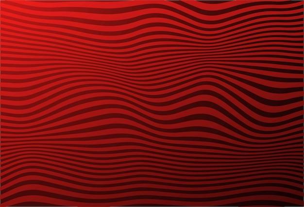 Zigzag abstrait motif de vague diagonale Vecteur gratuit