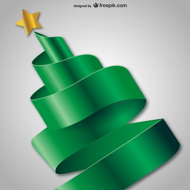 3d rbol de navidad abstracto Descargar Vectores gratis