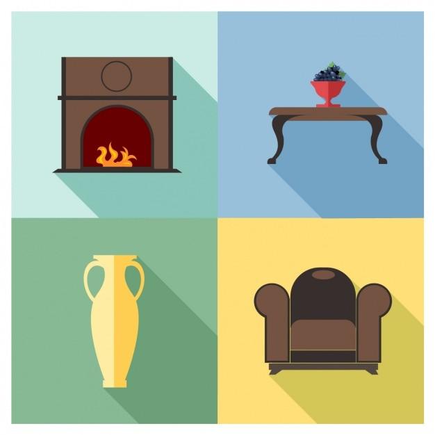 4 muebles descargar vectores gratis for Muebles gratis