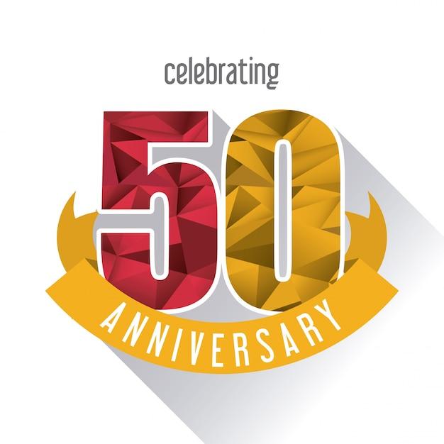 Invitacion 50 Anos Vectores Fotos De Stock Y Psd Gratis
