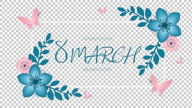 8 de marzo, día internacional de la mujer, feliz día de la madre. Vector Premium