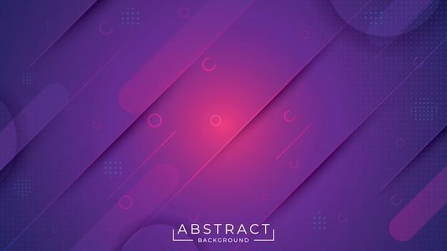 Abstact elegante con color violeta Vector Premium