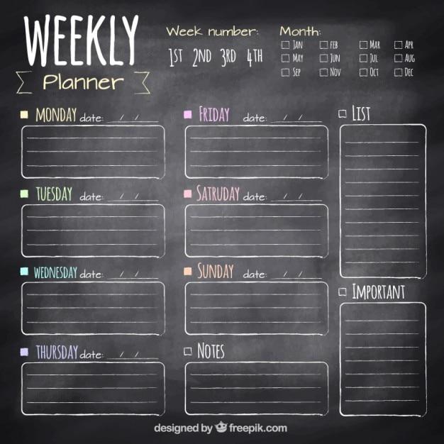 Agenda Mensual Vectores Fotos De Stock Y Psd Gratis