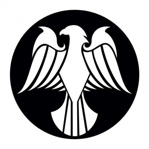 Águila con las alas extendidas de dibujo   Descargar Vectores gratis