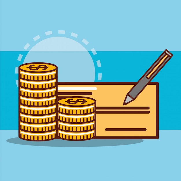 Ahorro de dinero vector gratuito