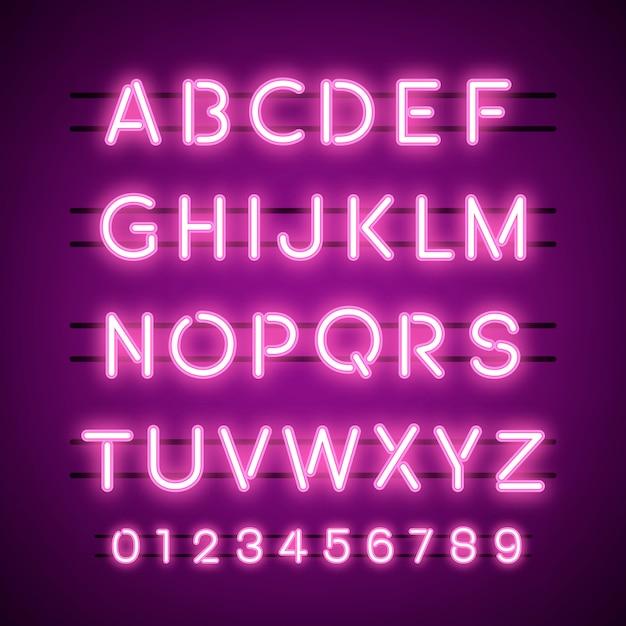 El alfabeto y los vectores de sistemas de numeración. vector gratuito