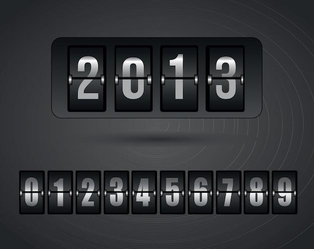 Año nuevo Vector Premium