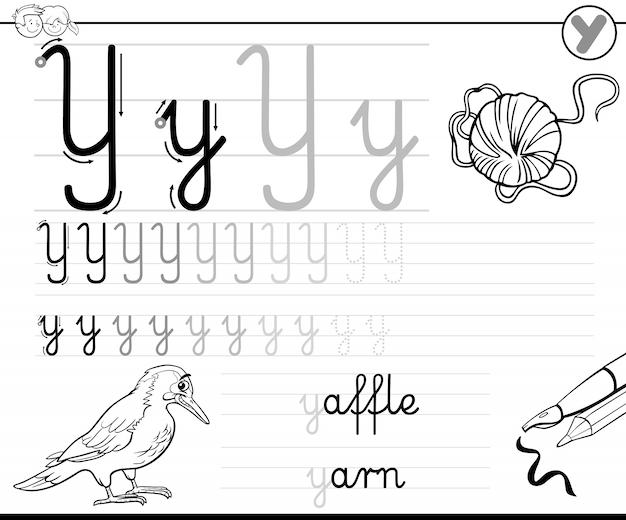 Aprender a escribir carta y libro de trabajo para niños | Descargar ...