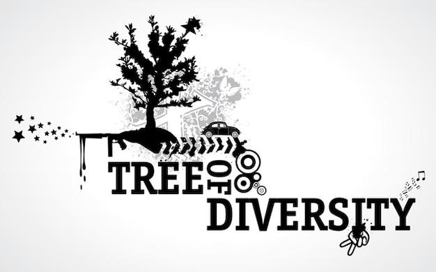 árbol de la vida Vector Gratis