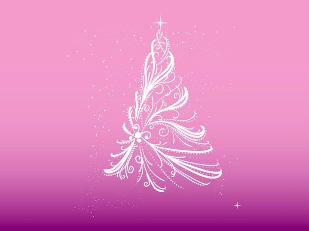 Rbol de navidad hecho de cintas descargar vectores gratis - Cintas navidad para arbol ...