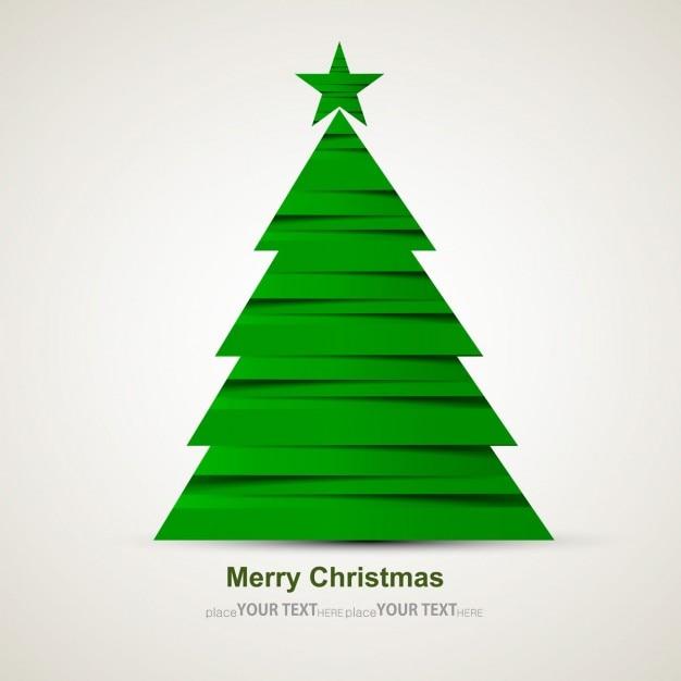 Christmas tree fotos y vectores gratis - Arbol navidad moderno ...
