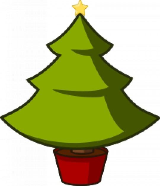 Rbol de navidad descargar vectores gratis - Planta navidad ...