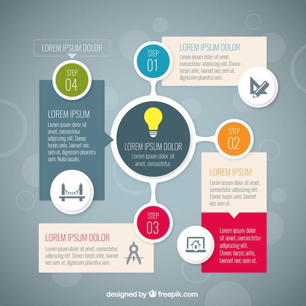 Arquitectura Infograf A Descargar Vectores Gratis