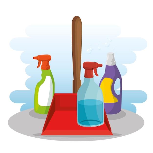 Art culos de limpieza con recogedor de jab n en aerosol - Limpiador de errores gratis ...
