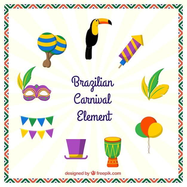Art culos decorativos para el carnaval de brasil - Articulos carnaval ...