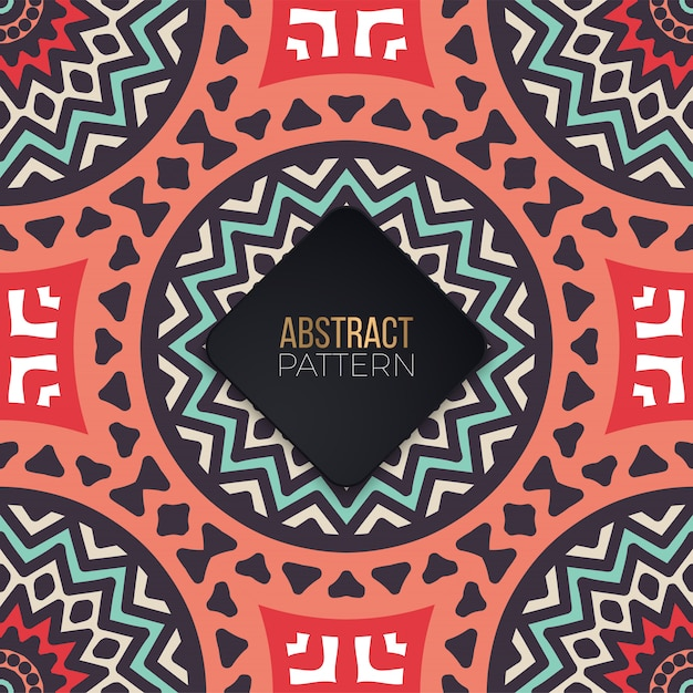 Azulejos de patrones sin fisuras con mandalas. elementos decorativos vintage vector gratuito
