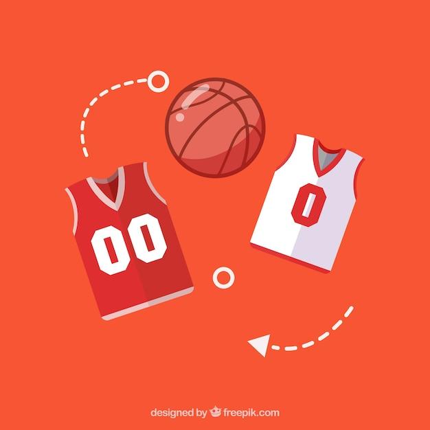 45129442d22a Baloncesto uniforme camisa y pantalones | Descargar Vectores gratis