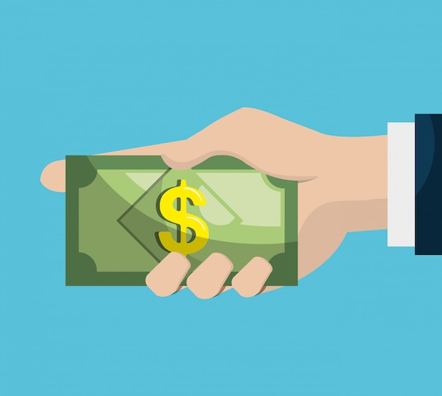 Banca y finanzas vector gratuito