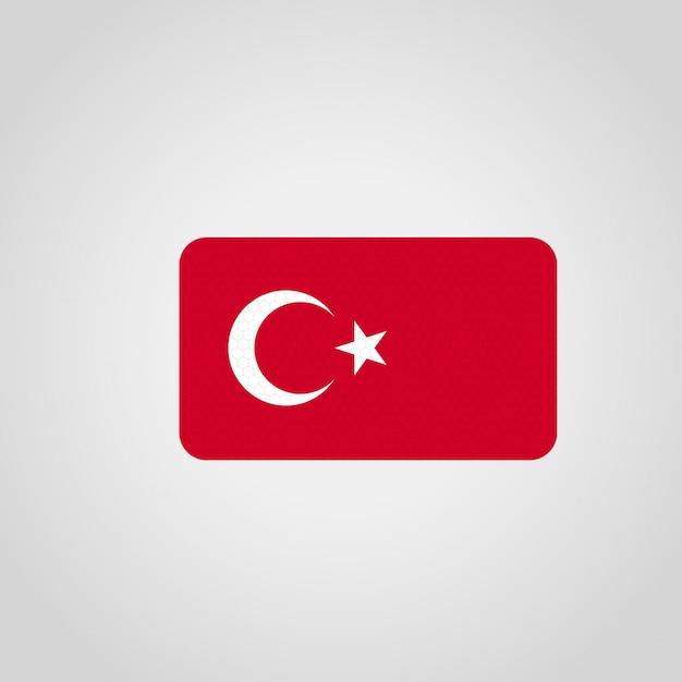 Bandera de turquía con el vector de esquinas redondeadas | Descargar ...