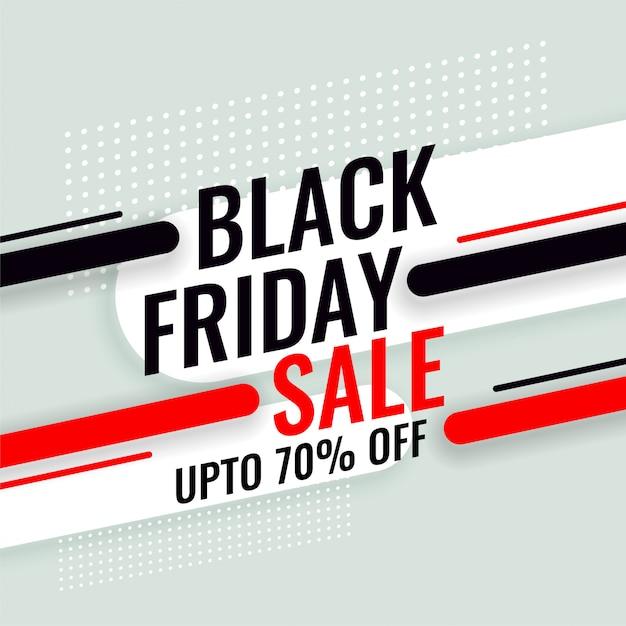 Banner de venta de viernes negro con detalles de la oferta vector gratuito