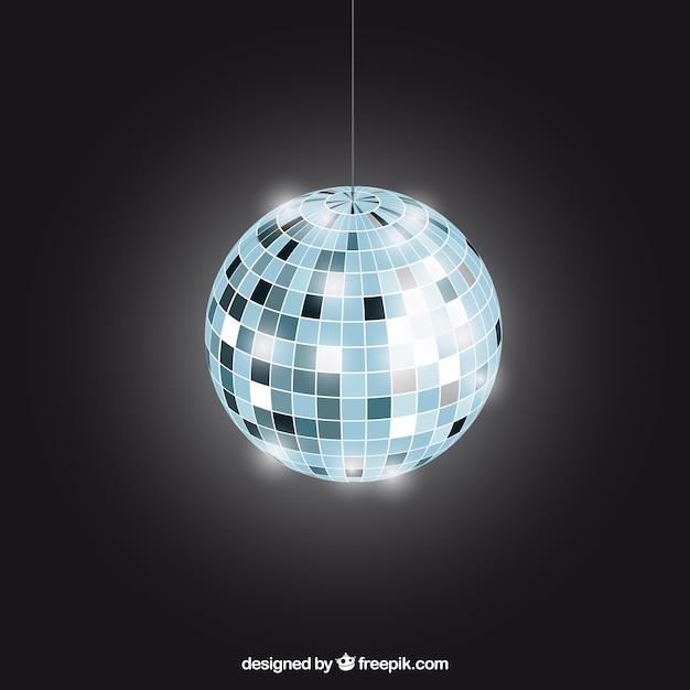 e08b80783275 Bola de discoteca brillante Vector Premium